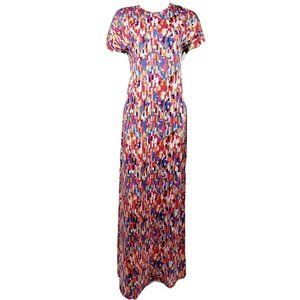 NWT LULAROE Multicolored Maria Dress XS